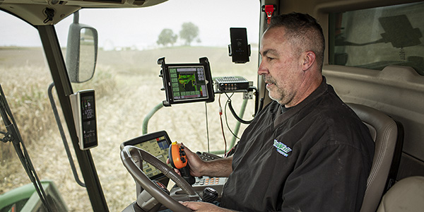 corn, soybean, harvest, yield monitor